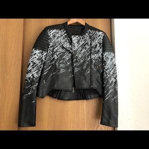 BCBG Maxazria Leather jacket!